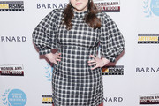 Beanie Feldstein Print Dress