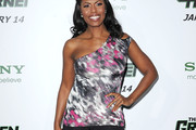 Omarosa Manigault-Stallworth One-Shoulder Top