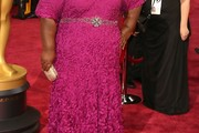 Gabourey Sidibe Evening Dress