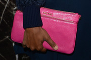 Gabrielle Union Leather Clutch