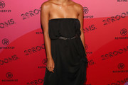 Zazie Beetz Strapless Dress