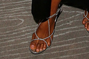 Halima Aden Strappy Sandals