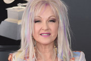 Cyndi Lauper Medium Layered Cut