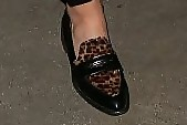 Amber Heard Penny Loafers