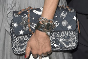 Anna dello Russo Printed Shoulder Bag
