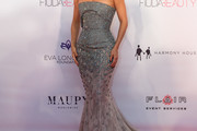 Eva Longoria Baston Strapless Dress