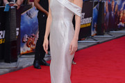 Vanessa Kirby Off-the-Shoulder Dress
