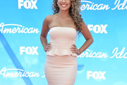 Haley Reinhart Strapless Dress