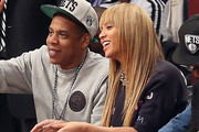 Jay Z Long Straight Cut with Bangs