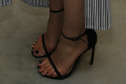 Dianna Agron Strappy Sandals