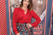Amy Landecker Pussybow Blouse