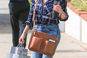 Reese Witherspoon Leather Messenger Bag