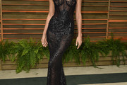Irina Shayk Corset Dress
