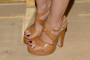 Isla Fisher Platform Sandals