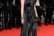 Amira Casar Leather Dress