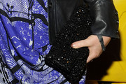 Talia Balsam Sequined Clutch