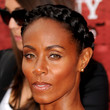 Jada Pinkett Smith Braided Bun
