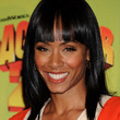 Jada Pinkett Smith Long Straight Cut with Bangs
