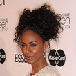 Jada Pinkett Smith Messy Updo