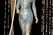 Lea Seydoux Sequin Dress
