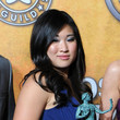 Jenna Ushkowitz Long Side Part