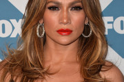 Jennifer Lopez Long Wavy Cut