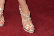 Jessica Chastain Strappy Sandals