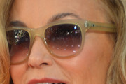 Jessica Lange Rectangular Sunglasses