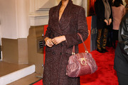 Iman Tweed Coat