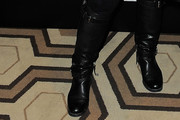 Anna Sui Flat Boots