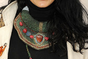 Donna D'Cruz Beaded Statement Necklace