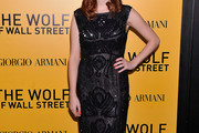 Aya Cash Little Black Dress