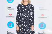 Maria Sharapova Print Dress