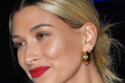 Hailey Baldwin Messy Updo