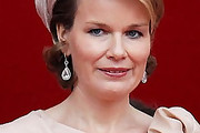 Princess Mathilde Dangling Diamond Earrings