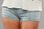 Kacey Musgraves Denim Shorts