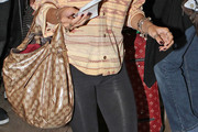 Karrueche Tran Printed Shoulder Bag