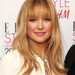 Kate Hudson Long Straight Cut with Bangs