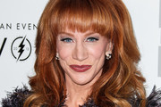 Kathy Griffin Medium Curls with Bangs