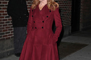 Kathy Griffin Wool Coat