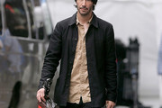 Keanu Reeves Cropped Jacket