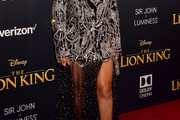 Beyonce Knowles Skirt Suit