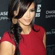 Kim Kardashian Hair - Long Braided Hairstyle