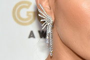Jennifer Lopez Diamond Chandelier Earrings