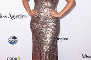 Jordin Sparks Halter Dress