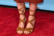 Abigail Spencer Lace-Up Heels