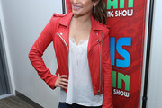 Lea Michele Leather Jacket