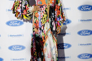 MC Lyte Print Dress