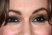Alyssa Milano Metallic Eyeshadow