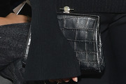 Constance Jablonski Leather Clutch